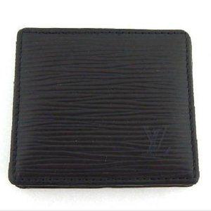 Louis Vuitton Epi Noir Mini Boite Box Black Leathe